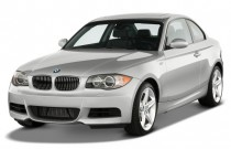 2008 BMW 1-Series 2-door Coupe 135i Angular Front Exterior View