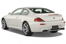 2008 BMW 6-Series 2-door Coupe M6 Angular Rear Exterior View