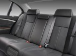 2008 BMW 7-Series 4-door Sedan 750i Rear Seats