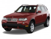 2008 BMW X3-Series AWD 4-door 3.0si Angular Front Exterior View