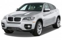 2008 BMW X6-Series AWD 4-door xDrive35i Angular Front Exterior View