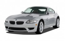 2008 BMW Z4-Series 2-door Coupe M Angular Front Exterior View