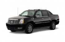 2008 Cadillac Escalade EXT AWD 4-door Angular Front Exterior View