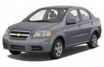 2008 Chevrolet Aveo 4-door Sedan LS Angular Front Exterior View