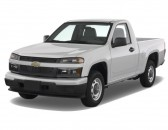 "2008 Chevrolet Colorado 2WD Reg Cab 111.2"" Work Truck Angular Front Exterior View"