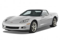 2008 Chevrolet Corvette 2-door Coupe Angular Front Exterior View