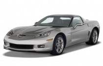 2008 Chevrolet Corvette 2-door Coupe Z06 Angular Front Exterior View