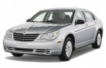 2008 Chrysler Sebring 4-door Sedan LX FWD Angular Front Exterior View