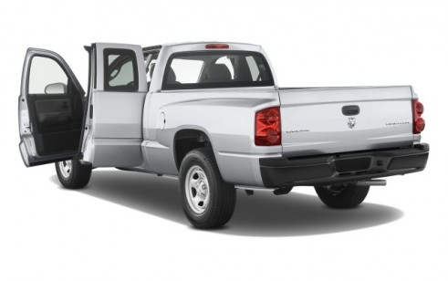 2008 Dodge Dakota 2WD Ext Cab ST Open Doors