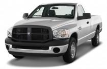"2008 Dodge Ram 2500 2WD Reg Cab 140.5"" ST Angular Front Exterior View"