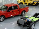 2008 Ford F-150 pickup with ALTe extended-range electric powertrain