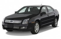 2008 Ford Fusion 4-door Sedan V6 SEL FWD Angular Front Exterior View