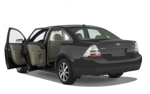 2008 Ford Taurus 4-door Sedan SEL FWD Open Doors