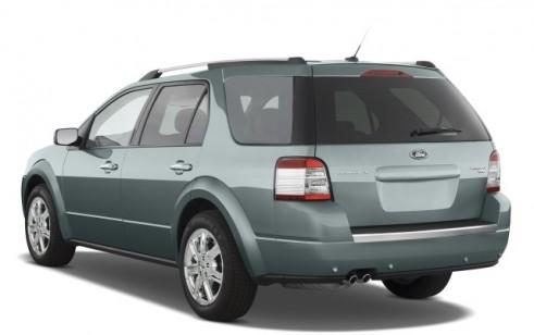 2008 Ford Taurus X 4-door Wagon Limited AWD Angular Rear Exterior View