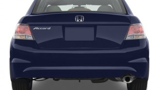 2008 Honda Accord Sedan 4-door I4 Auto EX-L Rear Exterior View