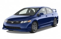 2008 Honda Civic Sedan 4-door Man Si Mugen Angular Front Exterior View