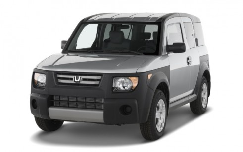 2008 Honda Element 2WD 5dr Auto LX Angular Front Exterior View