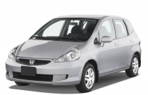 2008 Honda Fit 5dr HB Auto Angular Front Exterior View