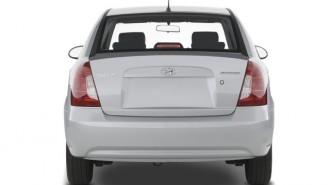 2008 Hyundai Accent 4-door Sedan Auto GLS Rear Exterior View