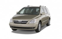 2008 Hyundai Entourage 4-door Wagon Limited Angular Front Exterior View