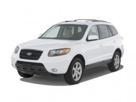 2008 Hyundai Santa Fe FWD 4-door Auto SE Angular Front Exterior View