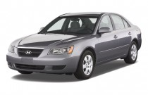 2008 Hyundai Sonata 4-door Sedan V6 Auto GLS Angular Front Exterior View