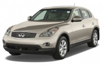 2008 Infiniti EX35 RWD 4-door Journey Angular Front Exterior View