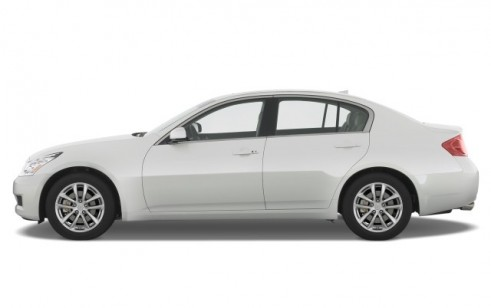 2008 Infiniti G35 Sedan 4-door Base RWD Side Exterior View