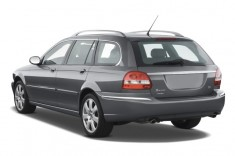 2008 Jaguar X-TYPE 4-door Wagon Angular Rear Exterior View