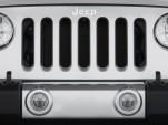 2008 Jeep Wrangler 4WD 2-door Sahara Grille