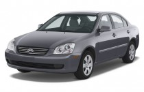 2008 Kia Optima 4-door Sedan I4 Auto LX Angular Front Exterior View