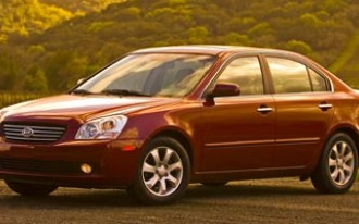 2006 - 2008 Kia Optima Recalled For Transmission Flaw