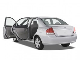 2008 Kia Spectra 4-door Sedan Auto EX Open Doors