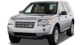 2008 Land Rover LR2 AWD 4-door SE Angular Front Exterior View