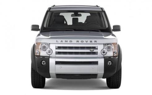 2008 Land Rover LR3 4WD 4-door HSE Front Exterior View
