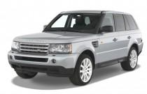 2008 Land Rover Range Rover Sport 4WD 4-door SC Angular Front Exterior View