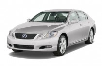 2008 Lexus GS 450h 4-door Sedan Hybrid Angular Front Exterior View