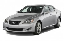 2008 Lexus IS 250 4-door Sport Sedan Man RWD Angular Front Exterior View