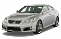 2008 Lexus IS F 4-door Sedan Angular Front Exterior View