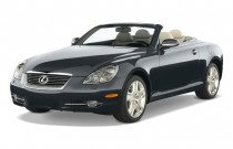 2008 Lexus SC 430 2-door Convertible Angular Front Exterior View