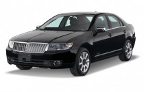 2008 Lincoln MKZ 4-door Sedan AWD Angular Front Exterior View