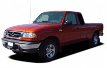 2008 Mazda B-Series Truck 4WD Plus4 Cab Auto Angular Front Exterior View