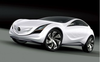 Mazda Kazamai Crossover Set for Moscow Debut
