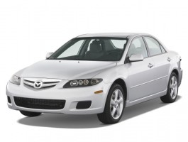 2008 Mazda MAZDA6 4-door Sedan Man i Sport Angular Front Exterior View