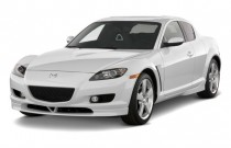 2008 Mazda RX-8 4-door Coupe Auto Grand Touring Angular Front Exterior View