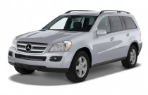 2008 Mercedes-Benz GL Class 4WD 4-door 4.6L Angular Front Exterior View