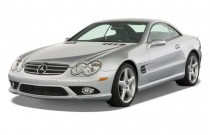 2008 Mercedes-Benz SL Class 2-door Roadster 6.0L AMG Angular Front Exterior View