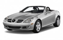 2008 Mercedes-Benz SLK Class 2-door Roadster 3.0L Angular Front Exterior View