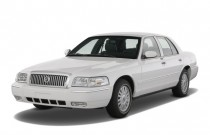2008 Mercury Grand Marquis 4-door Sedan LS Angular Front Exterior View