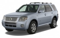 2008 Mercury Mariner 4WD 4-door V6 Premier Angular Front Exterior View
